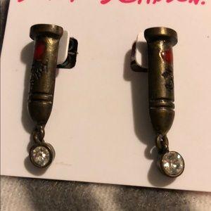 Bullet earrings Betsey Johnson